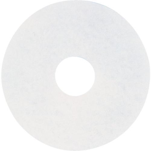 ■アマノ フロアパッド13 白(5枚) HEC801700 アマノ(株)【4961561×5:0】