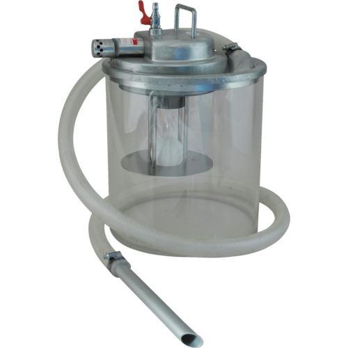 ■アクアシステム 高真空液体専用エア式掃除機 (オープンペール缶用)  〔品番:APPQO-HAS〕外直送元【5095433:0】【個人宅配送不可】