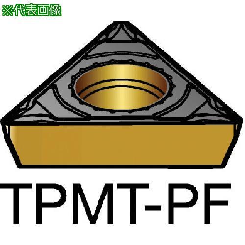 ■サンドビック コロターン111 旋削用ポジ・チップ 1515(10個) TPMT 【5798493×10:0】