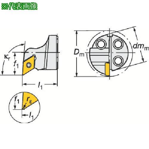 ■サンドビック コロターンSL コロターン111用カッティングヘッド 570-SDUPR-20-07 【6013139:0】