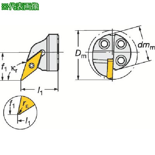 ■サンドビック コロターンSL コロターン107用カッティングヘッド 570-SVQCL-20-11-E 【6013295:0】