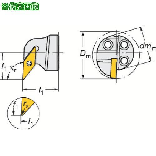 ■サンドビック コロターンSL コロターン107用カッティングヘッド 570-SVUCR-20-11-E 【6013350:0】