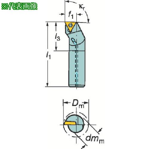 ■サンドビック コロターン111 ポジチップ用ボーリングバイト A06H-STFPR06 【6013481:0】