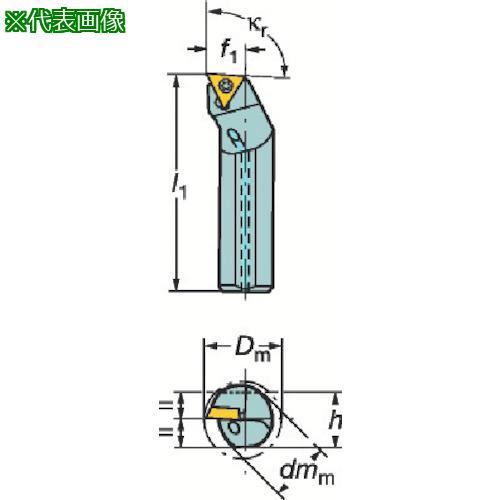 ■サンドビック コロターン107 ポジチップ用ボーリングバイト A32T-STFCR16 【6019161:0】