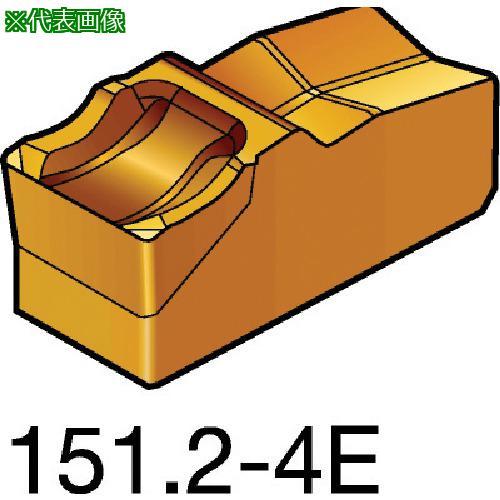 ■サンドビック T-Max Q-カット 突切り・溝入れチップ 525(10個) N151.2-400-4E 【6075045×10:0】