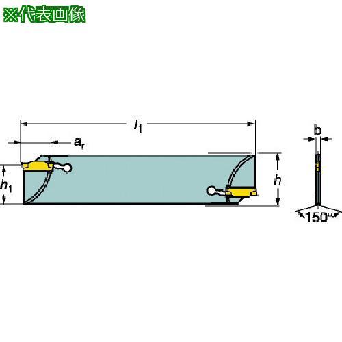 ■サンドビック コロカット1・2 突切りブレード(ダブルエンドタイプ) N123F55-25A2 【6098321:0】