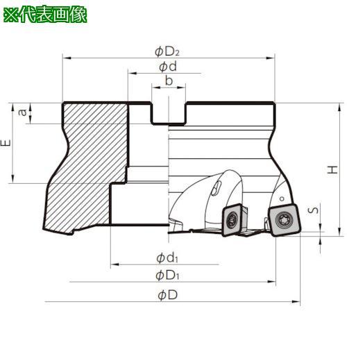 ■京セラ ミーリング用ホルダ MFH160R-14-8T 京セラ(株)【6546749:0】