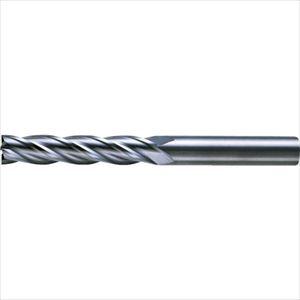 ■三菱K 4枚刃超硬センタカットエンドミル(ロング刃長) ノンコート 6mm C4LCD0600 【6593429:0】