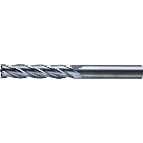 ■三菱K 4枚刃超硬センタカットエンドミル(ロング刃長) ノンコート 20mm C4LCD2000 【6593631:0】