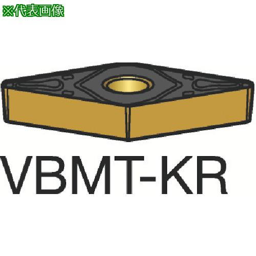 ■サンドビック コロターン107 旋削用ポジ・チップ 3210(10個) VBMT 【6954669×10:0】