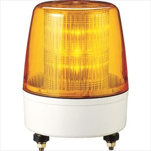 ■パトライト LED流動・点滅表示灯 KPE-220A-Y (株)パトライト【7514468:0】