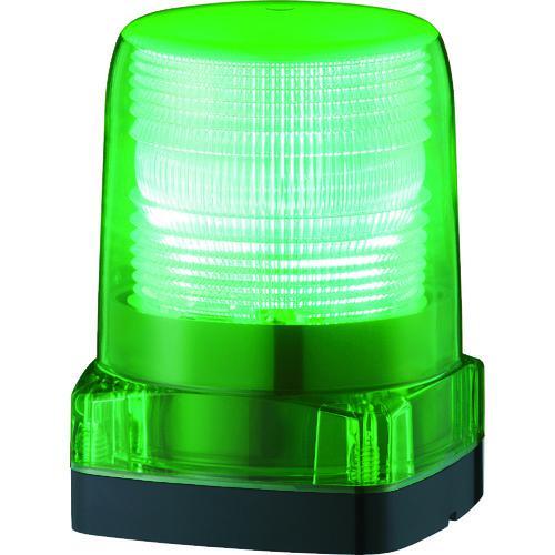 ■パトライト LEDフラッシュ表示灯  〔品番:LFH-12-G〕【7514484:0】