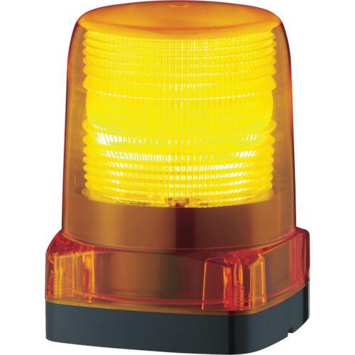 ■パトライト LEDフラッシュ表示灯 LFH-24-Y (株)パトライト【7514549:0】