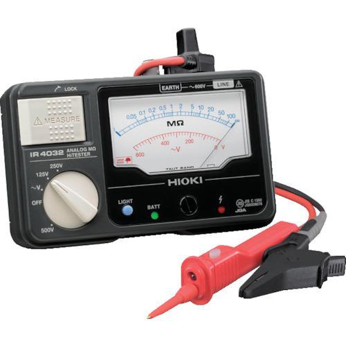 ■HIOKI メグオームハイテスタ 交流電圧(V)600  IR4033-11 【7538642:0】