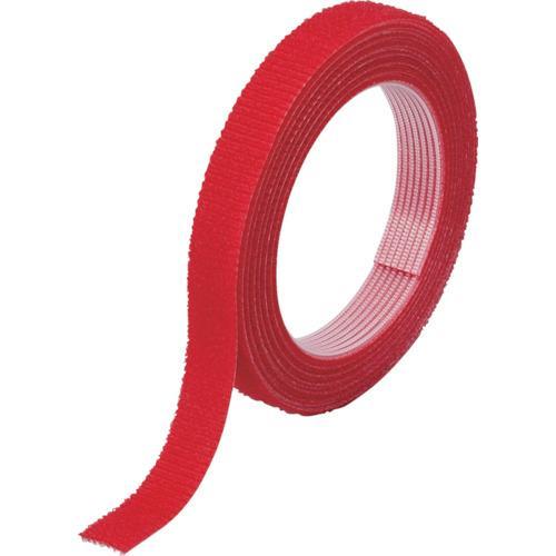 ■TRUSCO マジックバンド結束テープ 両面 幅40mmX長さ30m 赤 MKT-40W-R トラスコ中山(株)【7542496:0】