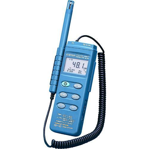 ■カスタム デジタル温湿度計 CTH-1100 (株)カスタム【7567111:0】