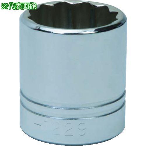 ■WILLIAMS 1/2ドライブ ソケット 12角 34mm JHWSTM-1234 【7581190:0】