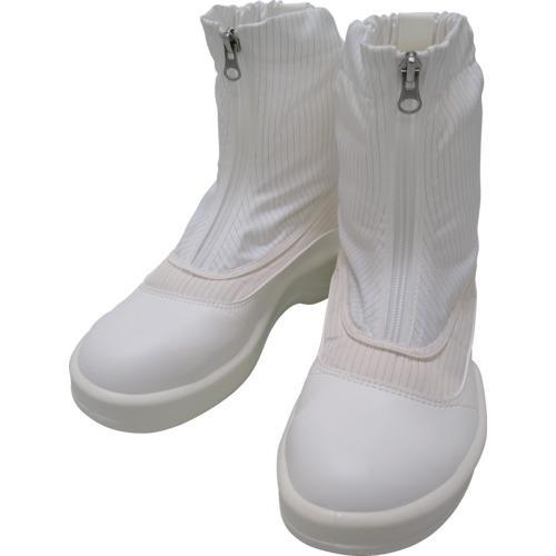 ■ゴールドウイン 静電安全靴セミロングブーツ ホワイト 27.0cm PA9875-W-27.0 【7591667:0】
