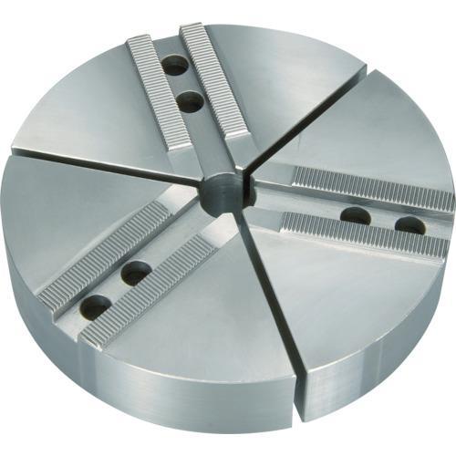 ■THE CUT 円形生爪 日鋼製 6インチ チャック用 TKR-06N 丸一切削工具(株)【7607466:0】