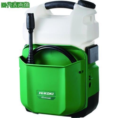 ■HiKOKI 14.4V コードレス高圧洗浄機 本体のみ AW14DBL-NN 【7620900:0】