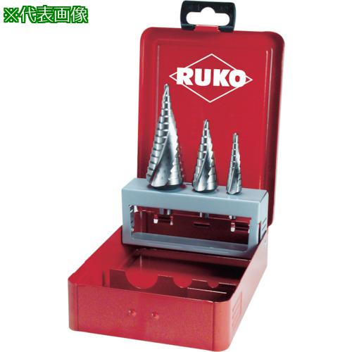 ■RUKO 2枚刃スパイラルステップドリル 40mm ハイス 101097 RUKO社【7660014:0】