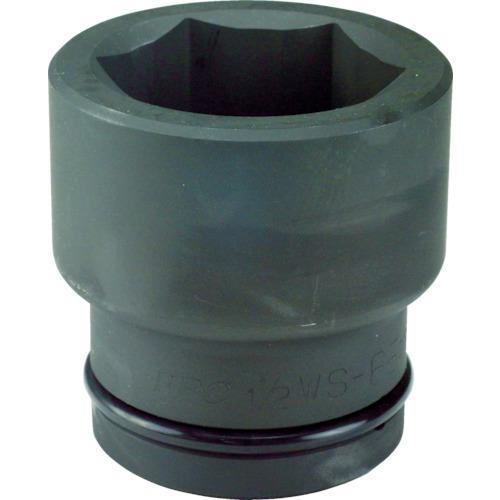 ■FPC インパクト ショート ソケット 差込角38.1mm 対辺100mm (3 1.1/2WS-100 フラッシュツール【7695462:0】