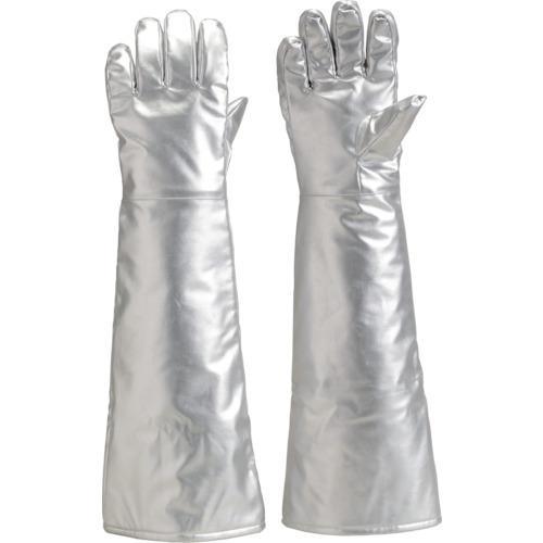 ■TRUSCO 遮熱・耐熱手袋 ロング  TMT-767FA 【7735081:0】