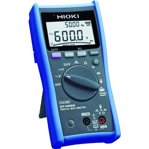 ■HIOKI デジタルマルチメータ(ACクランプ対応) DT4255 日置電機(株)【7736363:0】