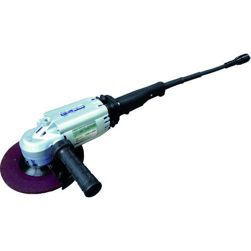 ■NDC 高周波グラインダ180mm 防振形 ブレーキ付 HDGS-180AB 【7870272:0】