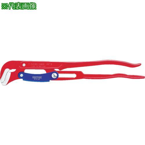 ■KNIPEX パイプレンチS型 420mm 8360-015 KNIPEX社【7883706:0】