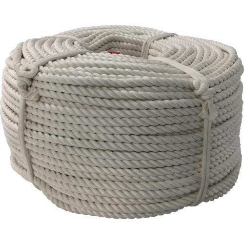 ■ユタカメイク ロープ 綿ロープ巻物 9φ×200m C9-200 (株)ユタカメイク【7944578:0】