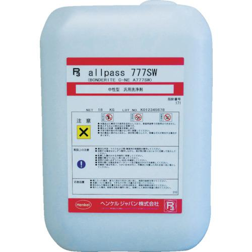 ■BONDERITE 油・グリス・ワックス用洗浄剤 18KG C-NE 【7944802:0】
