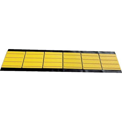 ■TRUSCO 折り畳み式点字マット 300角ラインタイプ  〔品番:TTML-300〕【7950918:0】