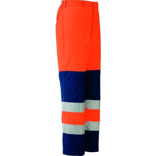 ■ミドリ安全 高視認性 防水帯電防止防寒スラックス オレンジ S SE1125-SITA-S ミドリ安全(株)【7978766:0】