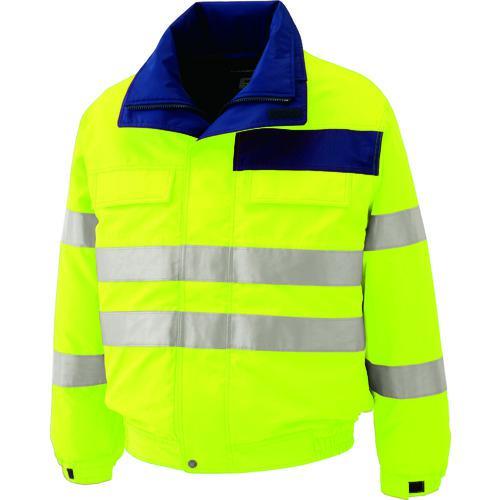 ■ミドリ安全 高視認性 防水帯電防止防寒ブルゾン イエロー 3L  〔品番:SE1134-UE-3L〕【7978863:0】