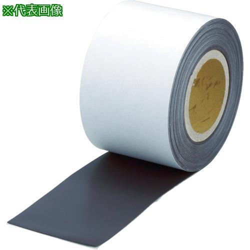 ■TRUSCO マグネットロール 糊付 t1.5mmX巾100mmX10m TMGN15-100-10 トラスコ中山(株)【7985282:0】