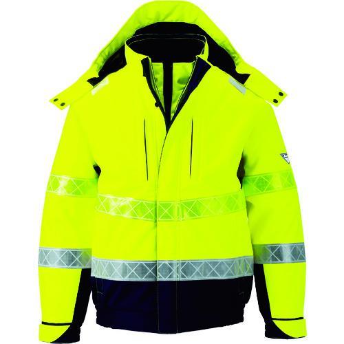 ■ジーベック 802 高視認防水防寒ブルゾン M イエロー 802-80-M (株)ジーベック【7996438:0】