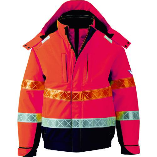 ■ジーベック 802 高視認防水防寒ブルゾン M オレンジ 802-82-M (株)ジーベック【7996471:0】