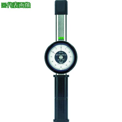 ■カノン 置針付ダイヤル形トルクレンチN12TOK-G  〔品番:N12TOK-G〕メーカー取寄【8086584:0】