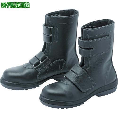 ■ミドリ安全 ラバーテック安全靴 長編上マジックタイプ 24.5 RT735-24.5 ミドリ安全(株)【8112248:0】