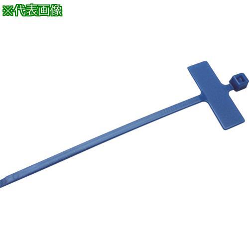■パンドウイット 旗型タイプナイロン結束バンド 青 (1000本入) PLM1M-M6 【8146459:0】