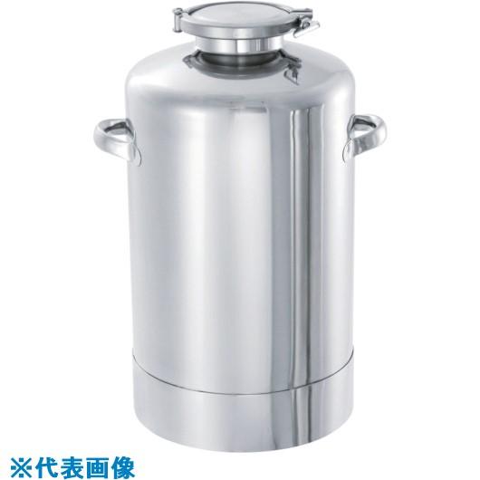 ?日東 ステンレス加圧容器30L 〔品番:PCN-30〕外直送元【8147166:0】【個人宅配送不可】