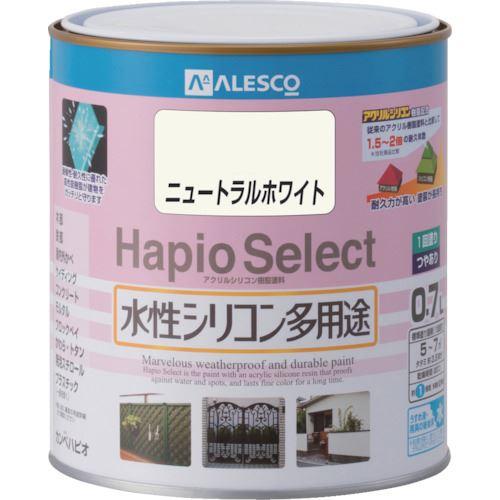 ■KANSAI ハピオセレクト 0.7L ニュートラルホワイト 6缶入 〔品番:616-070-0.7〕掲外取寄【8179499×6:0】