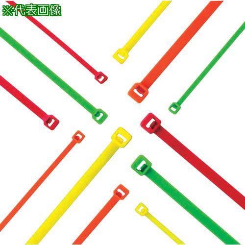 ■パンドウイット ナイロン結束バンド 蛍光黄 (1000本入) PLT2S-M54 【8180388:0】