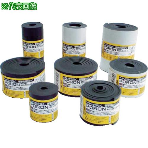 ■イノアック マイクロセルウレタンPORON 黒5×500×15M巻(テープ無) L24-5500-15M 【8184101:0】