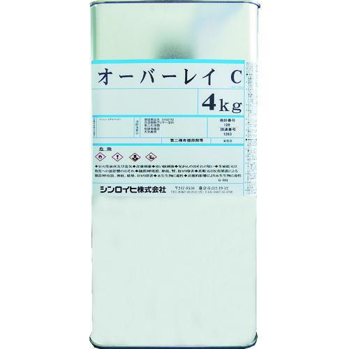 ■シンロイヒ オーバーレイC 4kg クリヤー 2000BW シンロイヒ(株)【8186498:0】