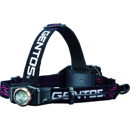 ■GENTOS Gシリーズ 明暗ライトセンサー搭載LEDヘッドライト 009RG GH-009RG ジェントス(株)【8193898:0】