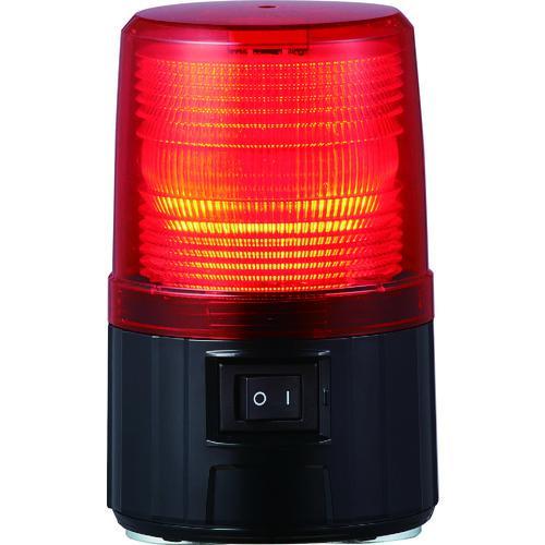 ■パトライト 電池式フラッシュ表示等 レッド  〔品番:PFH-BT-R〕【8202785:0】