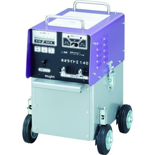 ■マイト バッテリー溶接機  〔品番:MBW-140-2〕直送元【8202791:0】【大型・重量物・個人宅配送不可】