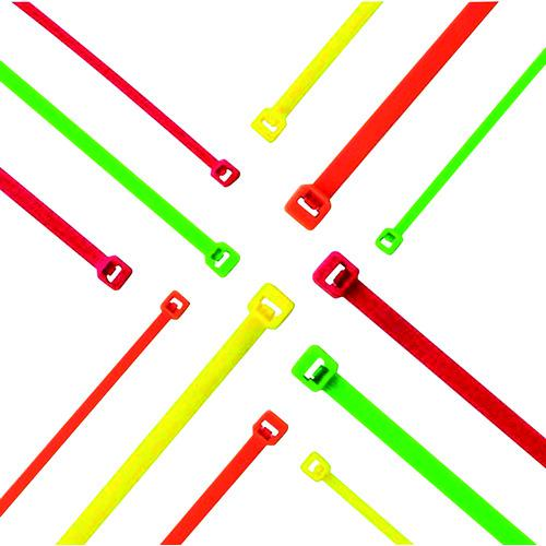 ■パンドウイット ナイロン結束バンド 蛍光オレンジ (1000本入) PLT1M-M53 【8257320:0】